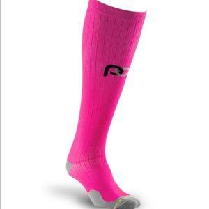 Pro Compression Pink Marathon Socks